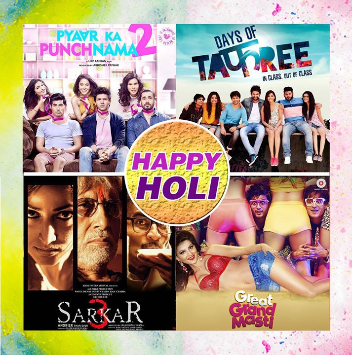 Anand Pandit Motion Pictures wishes everyone a very Happy Holi. #UdaoGulal #RangBarse #HoliHai #BollywoodStyleHoli