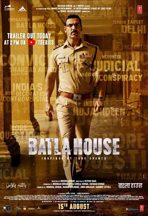 This Independence day, we are glad to announce that Anand Pandit Motion Pictures in association with Panorama Pictures is all set to entertain you once again! . . . John Abraham Mrunal Thakur #RaviKishan #RiteshShah Divya Khosla Kumar #KrishnanKumar #BhushanKumar Nikkhil Advani T-Series Panorama Studios Distribution Emmay Entertainment & Motion Pictures JA Entertainment Bake My Cake Films  #MadhuBhojwani #SandeepLeyzell #ShobhnaYadav #BatlaHouse #ConspiracyConqueredCorrectly  #AnandPanditMotionPictures #APMP