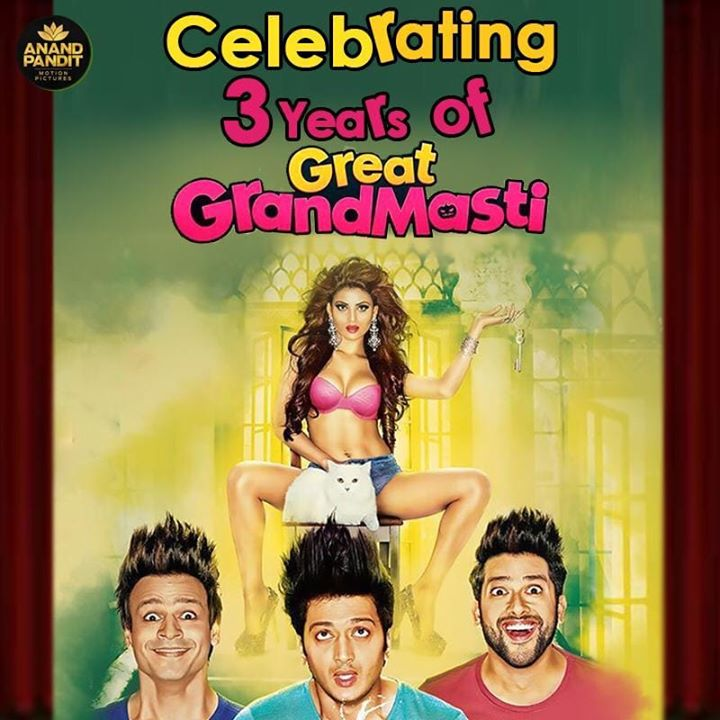 Anand Pandit,  3years, GreatGrandMasti, Laughter, APMP, SanjayMishra, AnandPanditMotionPictures