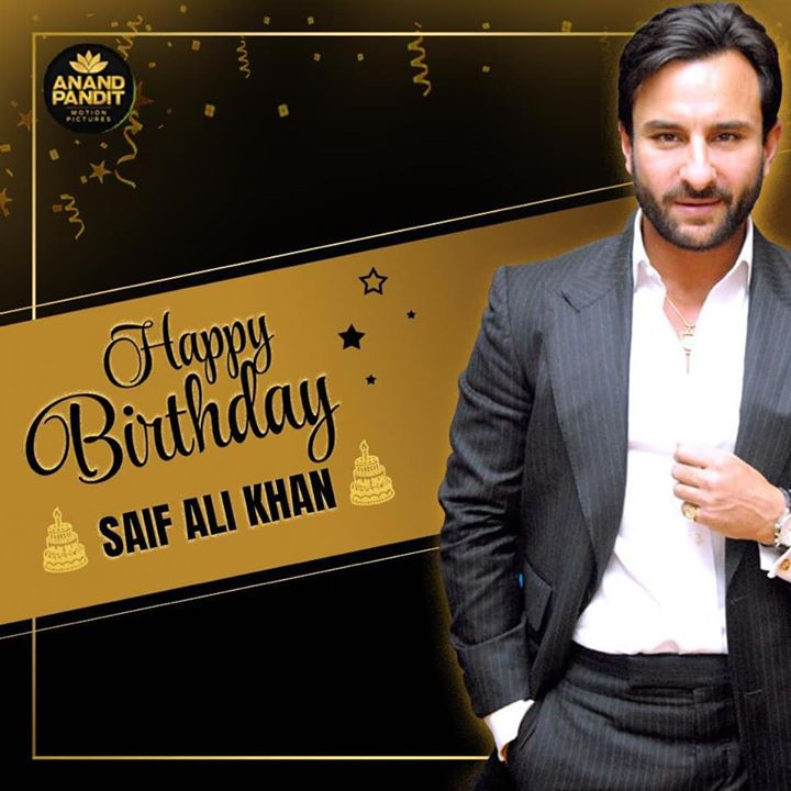 It's not just his name that makes him royal. It's his heart of gold. A very Happy Birthday to the nawab of Pataudi. #HappyBirthday #SaifAliKhan
