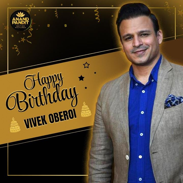Wishing the talented Vivek Oberoi a very Happy Birthday from all of us at Anand Pandit Motion Pictures! #PMNarendraModi #VivekOberoi #HappyBirthday VivekOberoi