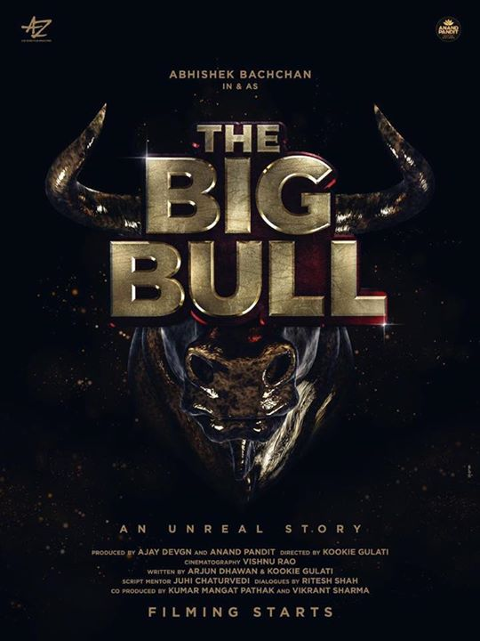 We,at Anand Pandit Motion Pictures, are excited to announce our upcoming film The Big Bull! This one shall leave a mark for our Indian cinema lovers! A team like none other,its our pleasure to be working with Abhishek Bachchan Ajay Devgn #KumarMangat #KookieVGulati  #TheBigBull 🎬