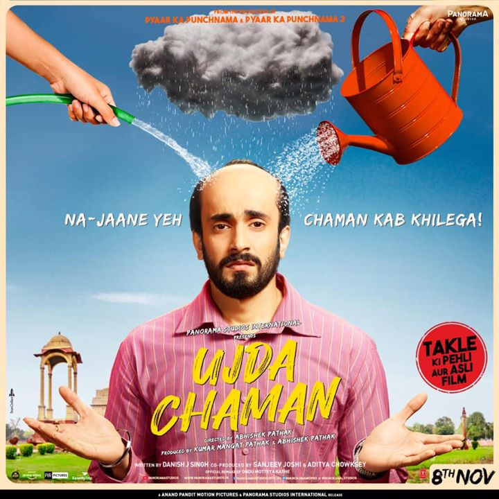 Are you ready to laugh till your stomach hurts? Anand Pandit Motion Pictures is elated to bring to you Ujda Chaman, a light-hearted comedy film releasing this November! . . #UdjaChaman Panorama Studios #SunnySingh Anand Pandit #KumarMangatPathakk #AbhishekPathakk T-Series