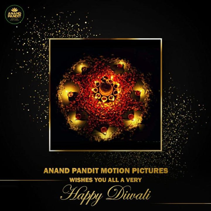 Sky full of fireworks, mouth full of sweets and heart full of joy. Anand Pandit Motion Pictures wishes all our well wishes a very Happy Diwali.. . . #HappyDiwali #Diwali #Diwali2019 #APMP