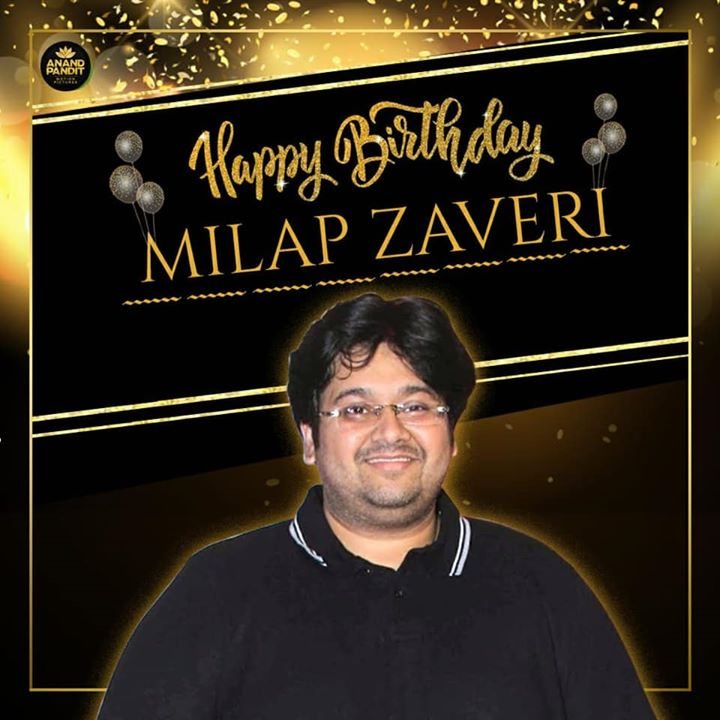 ‪From us at Anand Pandit Motion Pictures, here's wishing ace-director #MilapZaveri of #SatyamevJayate fame, a very Happy Birthday.‬ ‪.‬ ‪.‬ ‪#HappyBirthdayMilapZaveri #MilapZaveri #SatyamevJayate #APMP ‬
