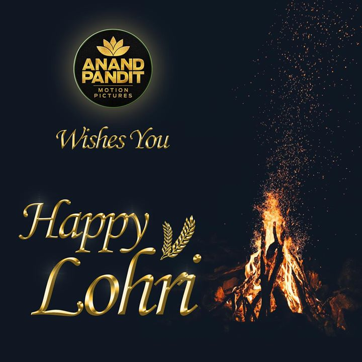 On this auspicious day of #Lohri, Anand Pandit Motion Pictures wishes you all immense happiness, peace and prosperity. Let this festival brings endless happiness to you and your family.!‬ ‪.‬ . . ‪#AnandPandit #AnandPanditMotionPictures #APMP #HappyLohri #Lohri2020 #LohriCelebrations #HappyFestival