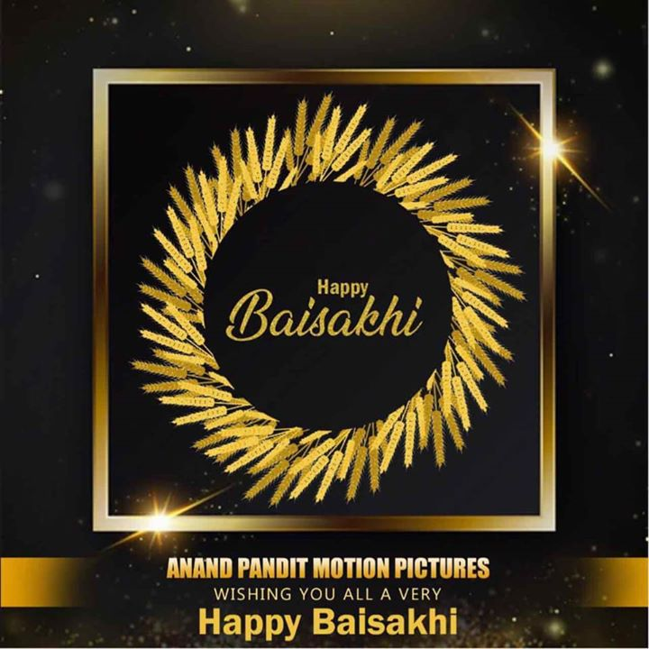 On this historically significant day for Sikhs, team Anand Pandit Motion Pictures wishes everyone a happy baisakhi. May the new year bring you and your family good health, prosperity, and happiness. Enjoy the celebrations at home and stay safe with your family!  . . . #HappyBaisakhi #Baisakhi #FestiveGreetings  #AnandPanditMotionPictures #AnandPandit #APMP