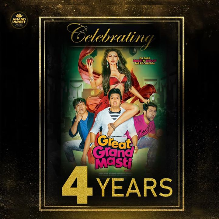 Anand Pandit,  AnandPandit, AnandPanditMotionPictures, APMP, Celebrating4YearsOfGreatGrandMasti, 4Years, GreatGrandMasti, Laughter, APMP