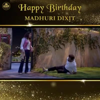 She made us laugh till our stomach hurts and has truly given us a Total Dhamaal experience!  Wishing the very lovable Bindu Patel AKA Madhuri Dixit a very Happy Birthday!  . . Madhuri Dixit - Nene #HappyBirthday #MadhuriDixit #APMP #TotalDhamaal Anand Pandit