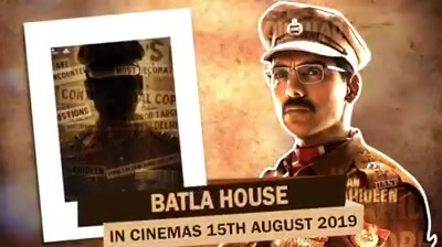 "Finally the wait is over! Here's a glimpse of our much awaited film ""Batla House"" which is all set to release on 15th August 2019! Much excited😍 Nora Fatehi Mrunalthakur John Abraham Tanishk Bagchi NehaKakkar #TulsiKumar Bpraak #RaviKishan Nikkhil Advanii #BhushanKumar #DivyaKhoslaKumar #KrishanKumar Emmay Entertainment & Motion Pictures #MadhuBhojwani JA Entertainment Bake My Cake Films T-Series #SandeepLeyzell Shobhna Yadav #PanoramaMovies #APMP Anand Pandit"