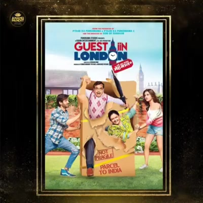 Would we still say 'Atithi Devo Bhava' if the guest has overstayed their welcome? It's been 4 years to our 'Guest Iin London', and the memories don't seem to fade. Cheers to everyone associated with the film!  . . #KartikAaryan #KritiKharbanda Paresh Rawal