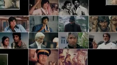 Ek mahanayak, aur unke 50 Chehre... On his special day, here's a tribute from Team Anand Pandit Motion Pictures.  Millions come to this city to walk in your footsteps, but there is and will always be only one Amitabh Bachchan!  #HappyBirthdayAmitabhBachchan #AnandPandit #APMP #Chehre