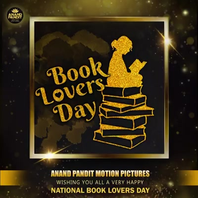 Books have the ability to magically transport us into another world.  Here's wishing everyone who loves books and their magic, Happy Reading! . . . #NationalBookLoversDay #Bookstagram #HappyReading #AnandPandit #AnandPanditMotionPictures #APMP