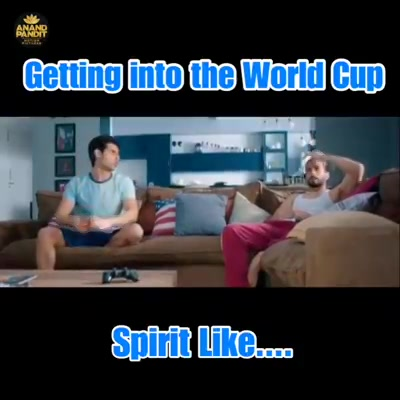 Getting into the World Cup mood like.... #WorldCup #IndVsPak #Sunday #AnandPanditMotionPictures