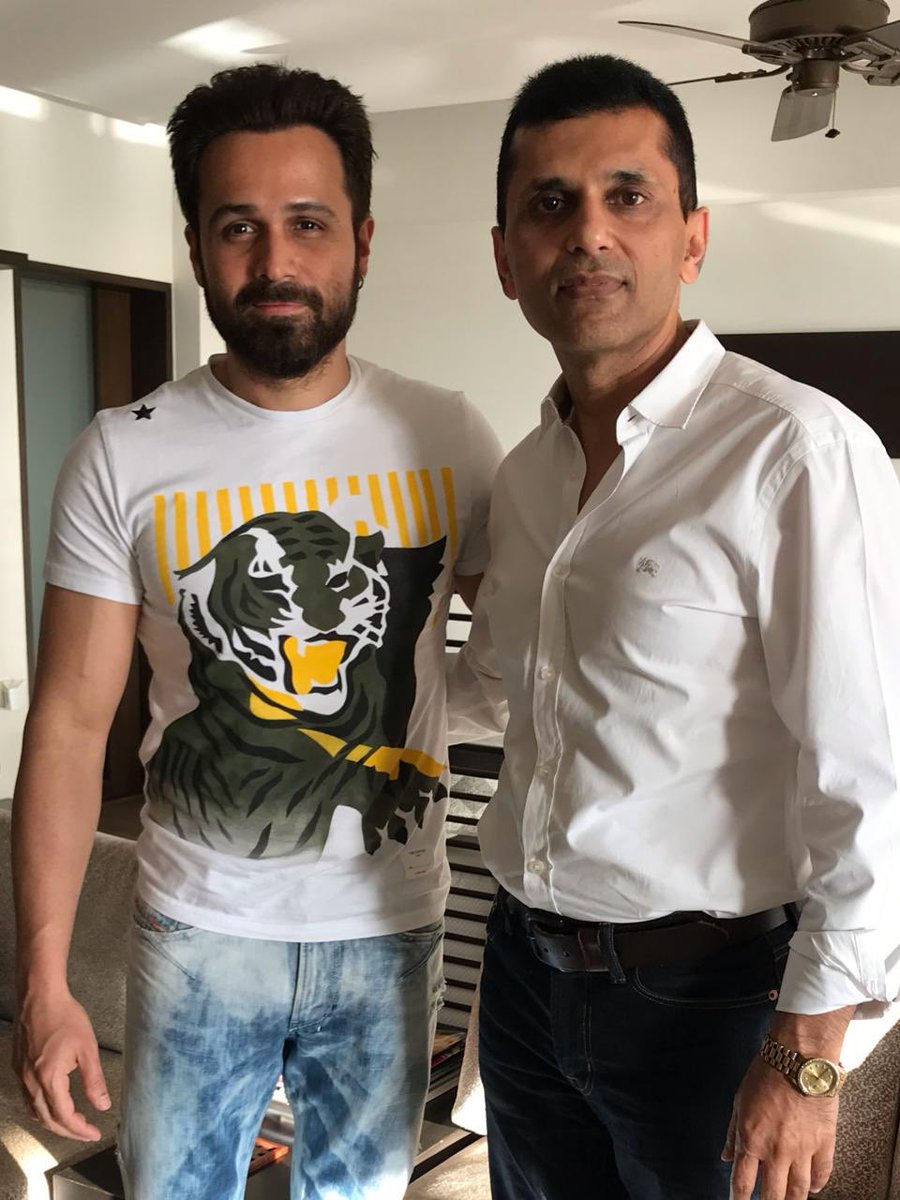 Happy Birthday to my dear friend and an amazing human being @emraanhashmi! One of the most versatile actors we have in our industry. Keep shining like the star !! Always wishing you lots of good health, love, happiness. #HappyBirthdayEmraanHashmi https://t.co/QPYqbviDl3