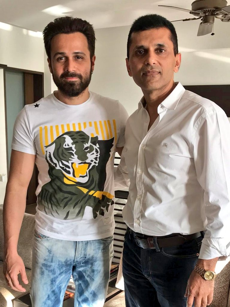RT @EHUniverse: Emraan Hashmi With Producer @anandpandit63 📸 https://t.co/o9MqXlhT5T
