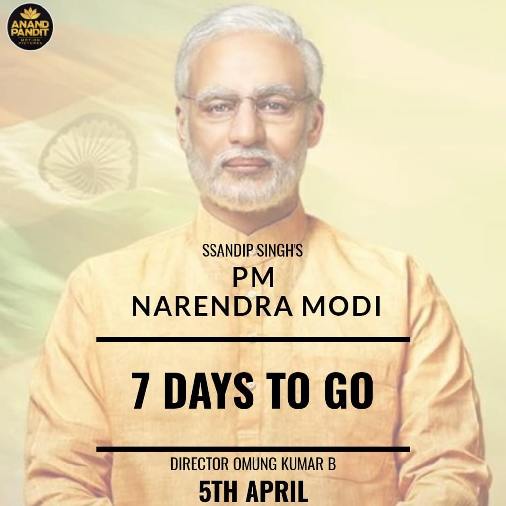 #countdown #modithefilm #5thApril #anandpanditmotionpictures https://t.co/1TGcWSIMlv