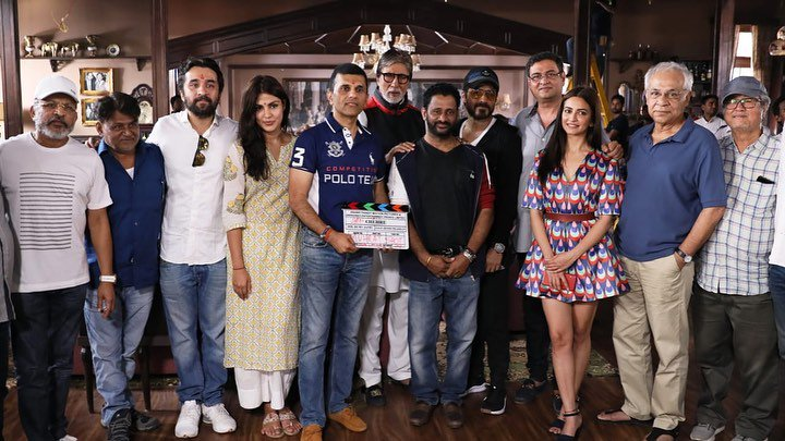 RT @etimes: Here's a picture of team #Chehre from the launch. The movie goes on floors today! https://t.co/hNfIDvJsXE