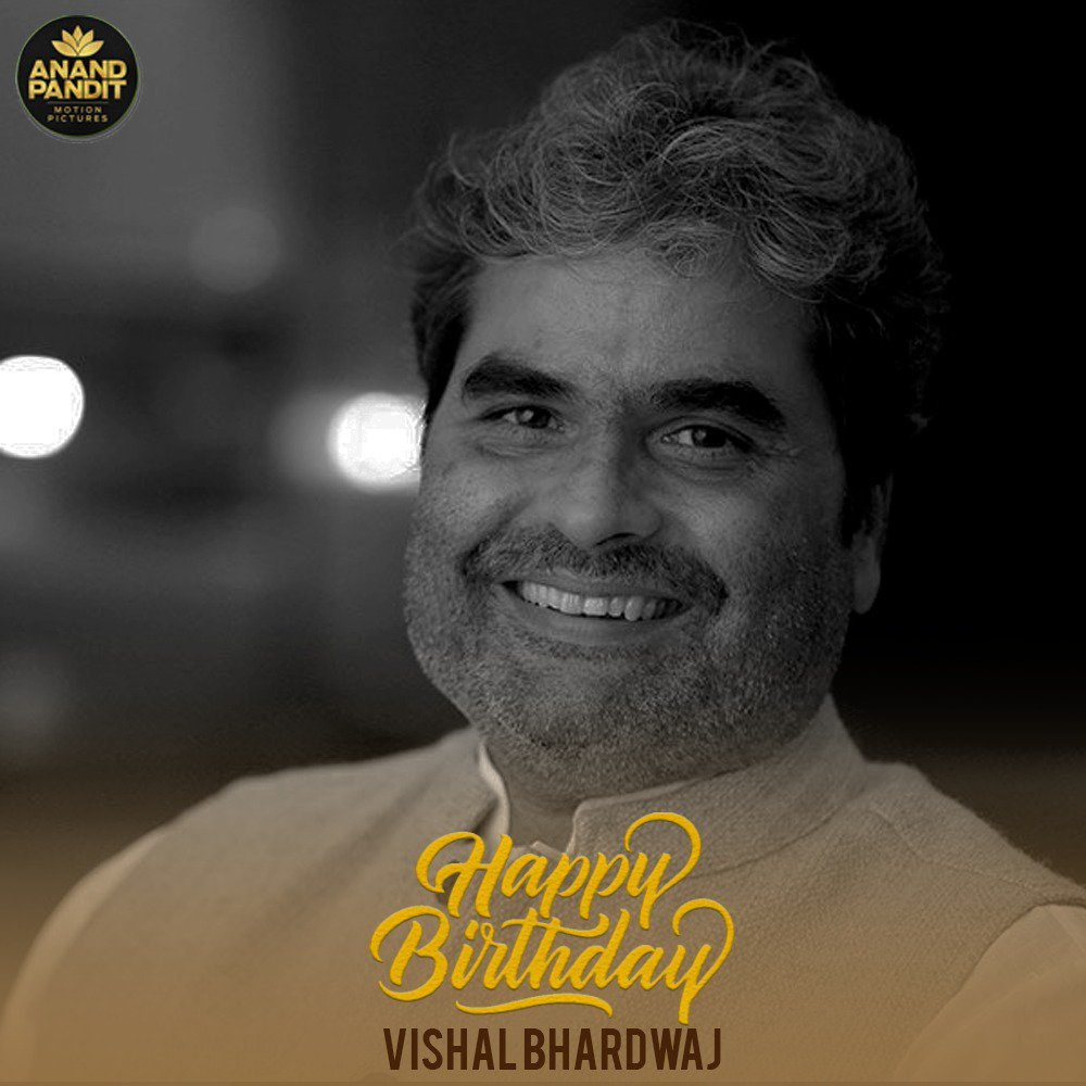 A powerhouse of talent, a man who truly is a jack of all trades! Here's wishing the multi-talented Vishal Bhardwaj a very Happy Birthday! #HappyBirthday #VishalBhardwaj #APMP @VishalBhardwaj https://t.co/tagP2H77Cl