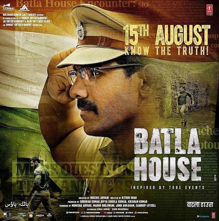 Batla House is coming to awaken your inner patriot like never before this Independence Day!!! @Norafatehi @tanishkbagchi @iAmNehaKakkar @TheJohnAbraham @mrunal0801 @TulsikumarTK @EmmayEntertain @johnabrahament @bakemycakefilms @TSeries https://t.co/sJUEstx9no