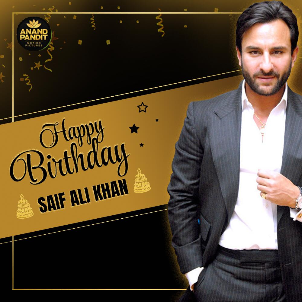 It's not just his name that makes him royal. It's his heart of gold. A very Happy Birthday to the nawab of Pataudi. #HappyBirthday #SaifAliKhan https://t.co/uIIfFxCIpq