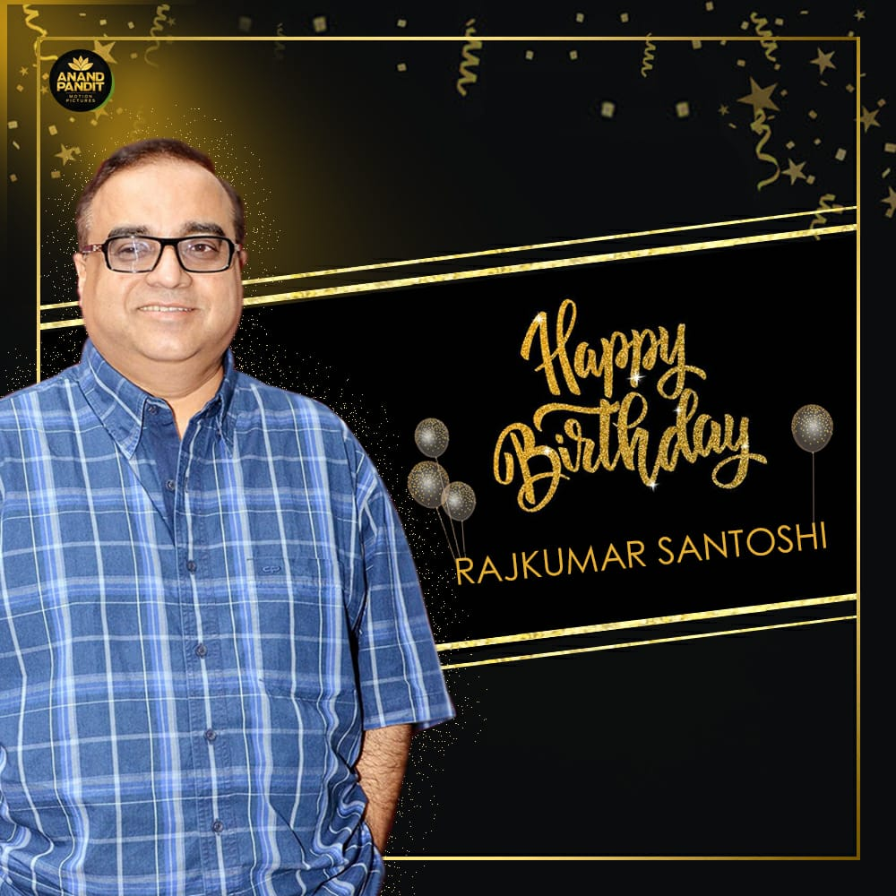 A very Happy Birthday to the very popular director, producer and screenwriter Rajkumar Santoshi! #HappyBirthday #RajkumarSantoshi https://t.co/f6XitkDCGw