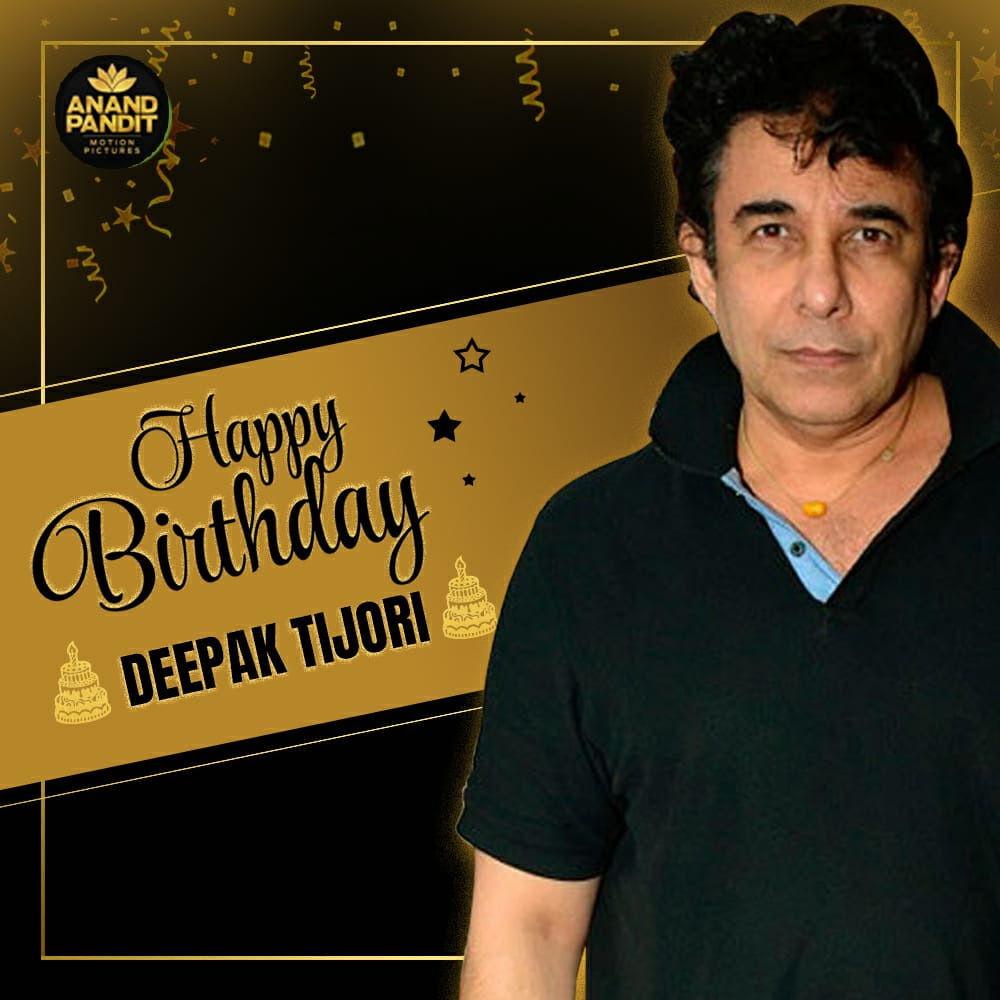 Have a joyful and cheerful birthday Deepak Tijori. Hoping this year is full of lots of happiness and great work! #HappyBirthday #DeepakTijori https://t.co/gRgcHiawgN