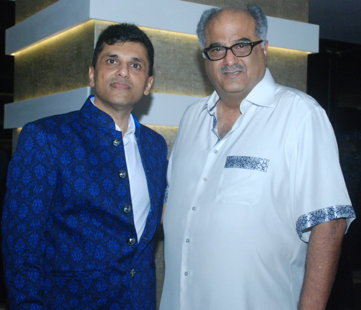 Wishing ace-producer and dear friend @BoneyKapoor a very Happy Birthday. May success and happiness forever surround you and your family. . . #HappyBirthday #BoneyKapoor #HappyBirthdayBoneyKapoor https://t.co/Rsjq7f7cOb