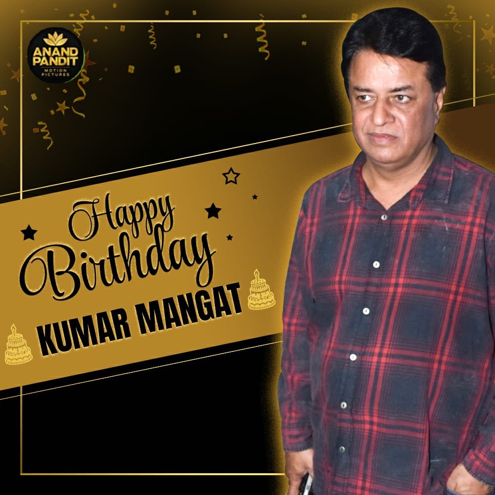 Here's wishing my co-producer and dear friend @KumarMangat a very Happy Birthday. If I may say so, this journey has been marvellous because of you...let's continue making blockbusters together. . #HappyBirthday #happybirthdaykumarmangatpathak https://t.co/qDqhADjfpd