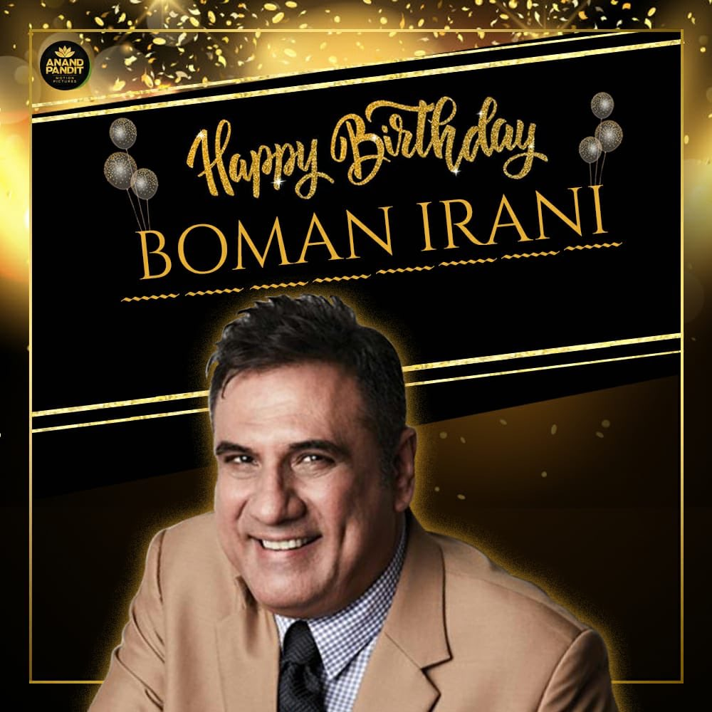 To the man who truly has shown us that it's never too late to follow your dreams! Wishing @bomanirani a Very Very Happy Birthday!  . . . #HappyBirthday #HappyBirthdayBomanIrani https://t.co/Y5gmEKSY8j
