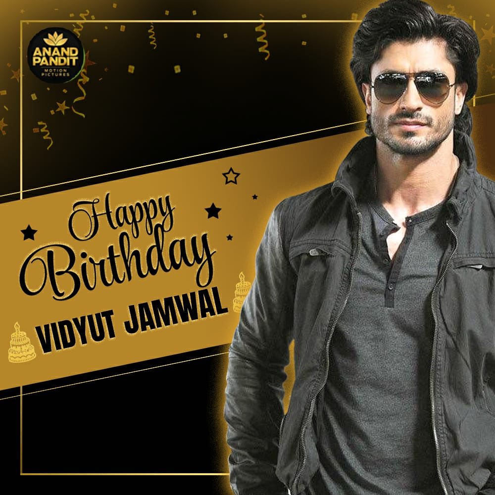 To the one man army who's made action look effortless on screen. Happy Birthday @VidyutJammwal ! Looking forward to our upcoming association with #KhudaGawah  . . #HappyBirthday #happybirthdayvidyutjammwal https://t.co/jyYH6QXKTJ
