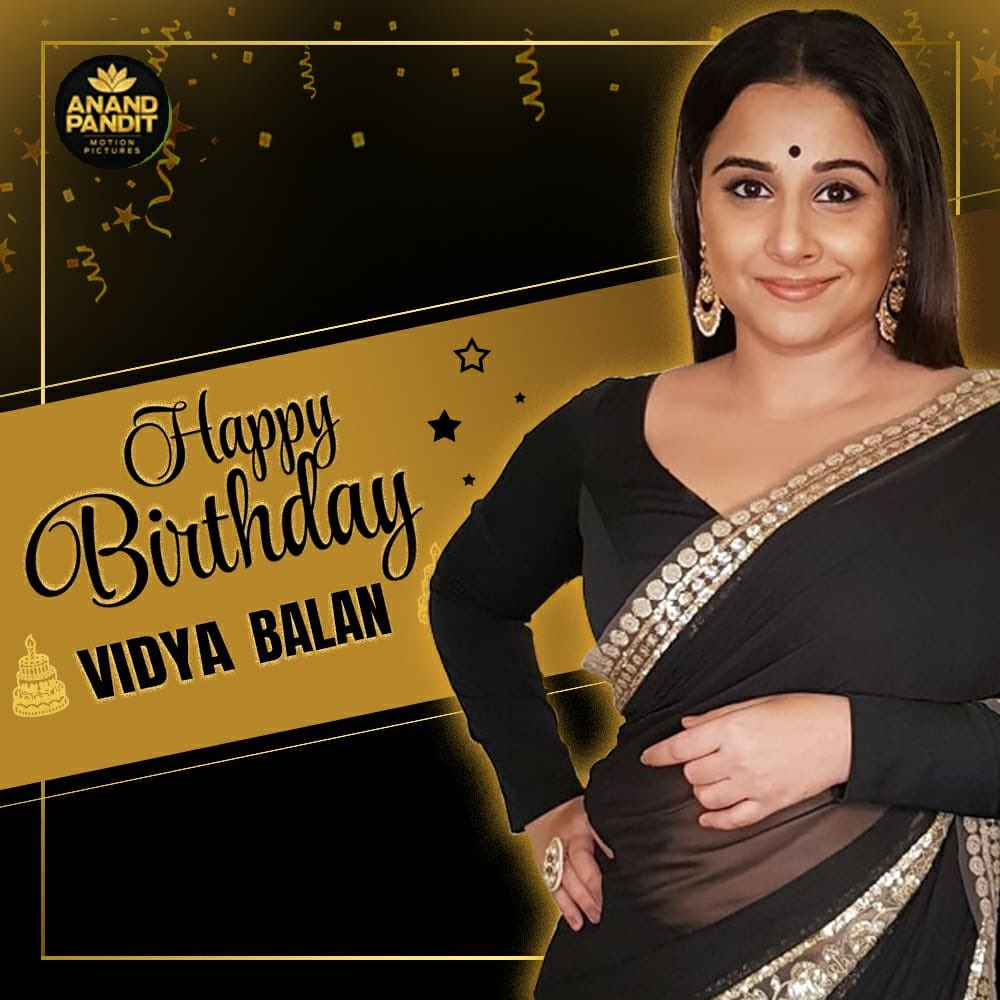 Wishing you a very happy birthday @balanvidya. May life continue to be a lovely adventure filled with impactful roles and larger-than-life characters.! . . . #HappyBirthay #HappyBirthdayVidyaBalan #VidyaBalan https://t.co/DPNMwkfRjO