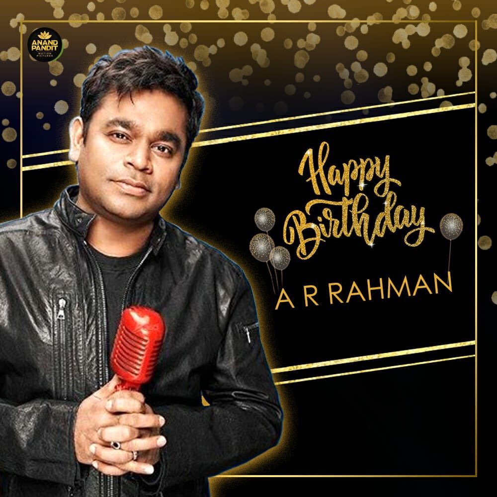 Happy birthday to the music maestro, the mozart of India, the man who put Indian cinema and music on the global map and the winner of academy awards Mr @arrahman!! . #HappyBirthday #HappyBirthdayARR #HappyBirthdayARRahman https://t.co/7YnlxXZUj5