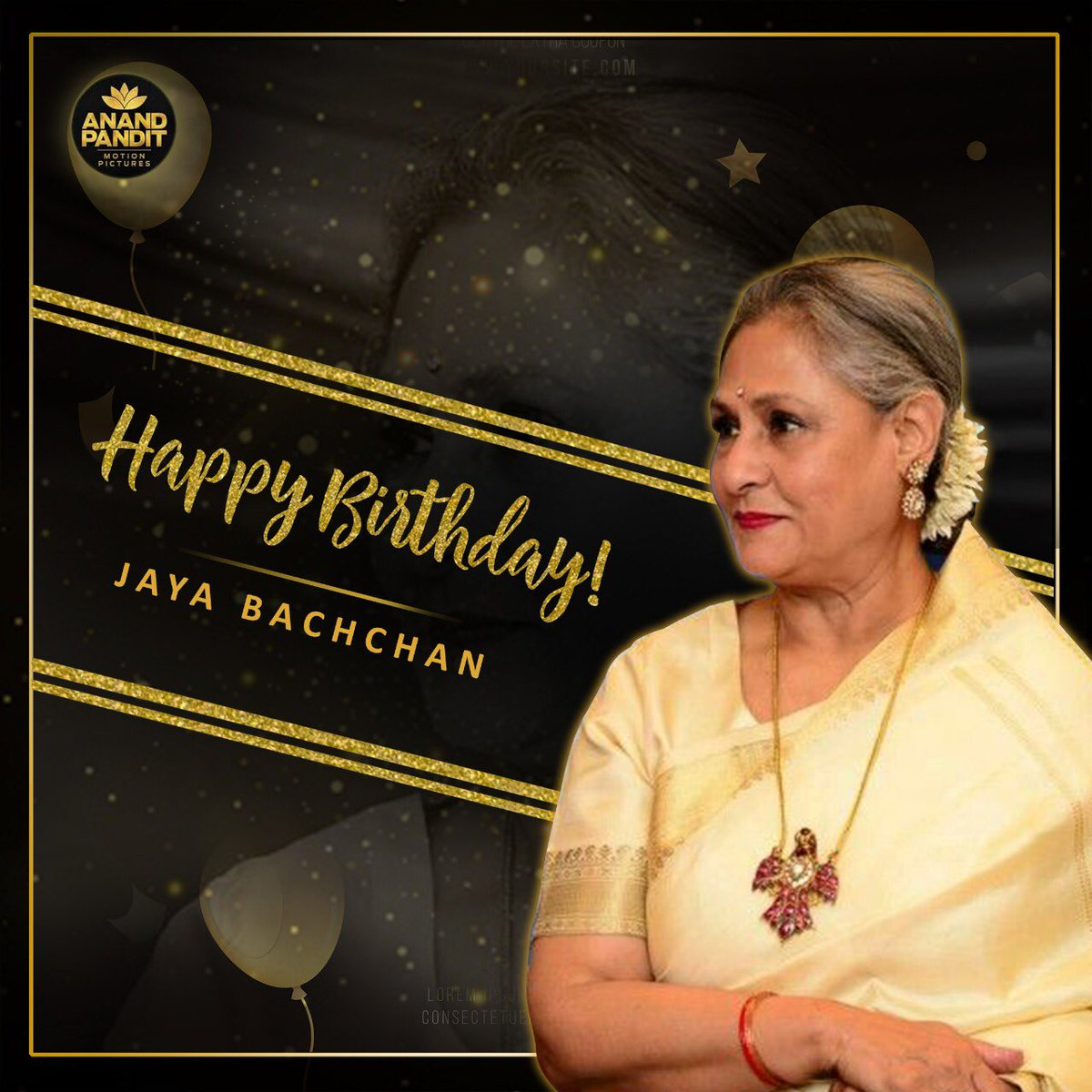 Birthday wishes to one of the most talented, acclaimed and famed actress #JayaBachchan ,  Happy Birthday!!! #HappyBirthdayJayaBachchan https://t.co/lYAfc5HGIC