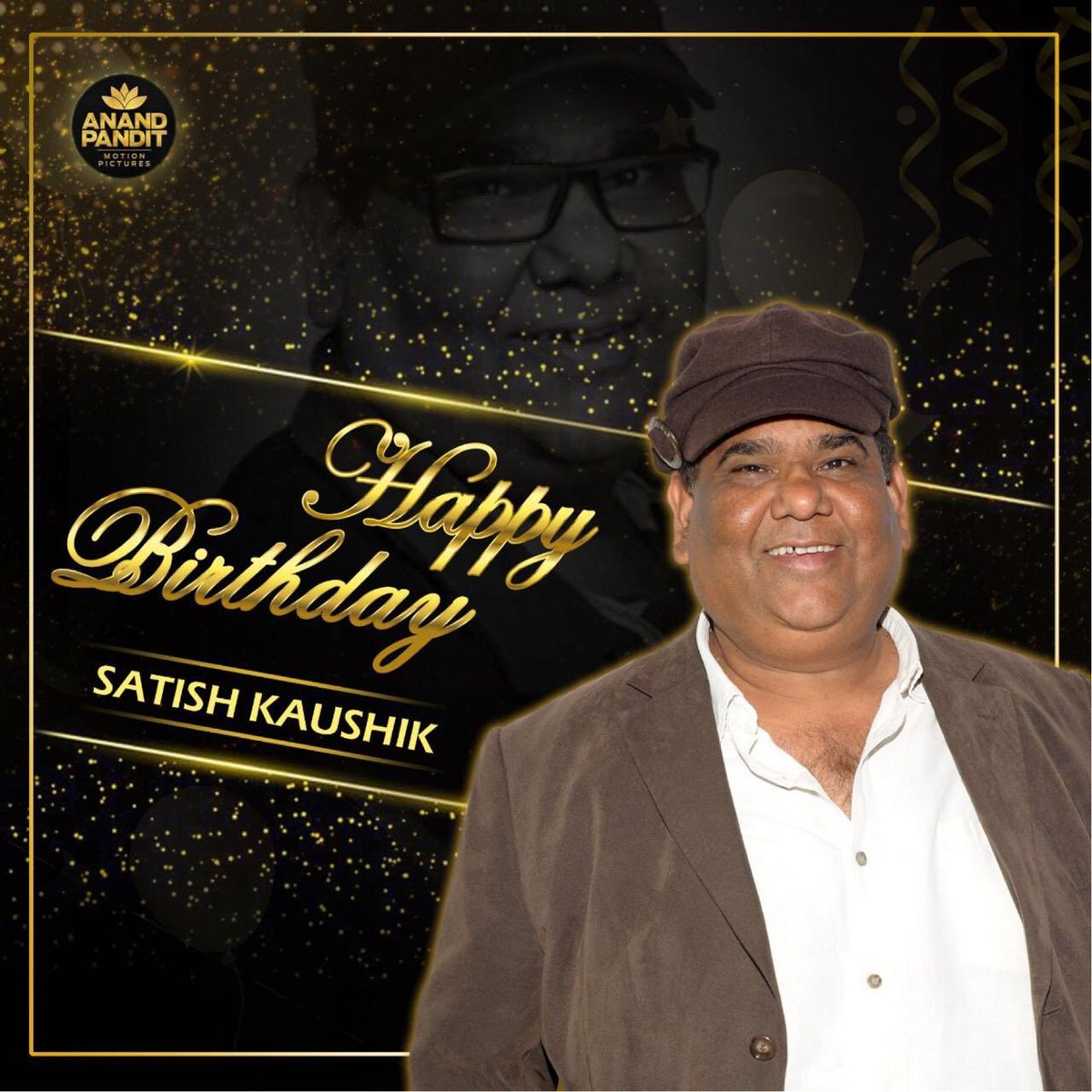Happy birthday to a close friend, an excellent actor, ace director-producer and a gem of a person @satishkaushik2. Hoping the new year is filled with lots of happiness and success for you!  #HappyBirthday #HappyBirthdaySatishKaushik #SatishKaushik https://t.co/mTv3kAqdUd