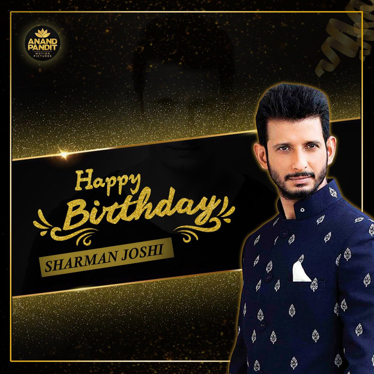 Wishing my friend, the extremely talented @TheSharmanJoshi a very happy birthday. Your knack for comedy and spontaneity are unmatchable! May this year bring you even more success and an abundance of happiness!  #HappyBirthday #HappyBirthdaySharmanJoshi https://t.co/McULsvgvnz