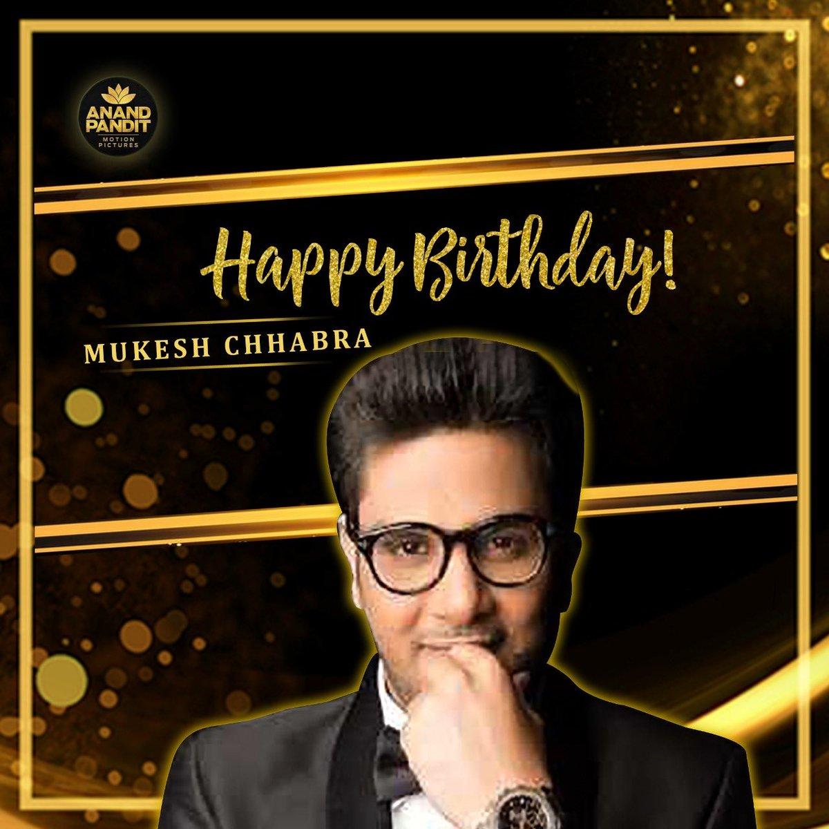 Happy Birthday, @CastingChhabra , you have been that magician who has made dreams come true for so many who had wanted to be a part of the big screen!  Have a rocking birthday! #HappyBirthdayMukesh https://t.co/Bie38VPRtY