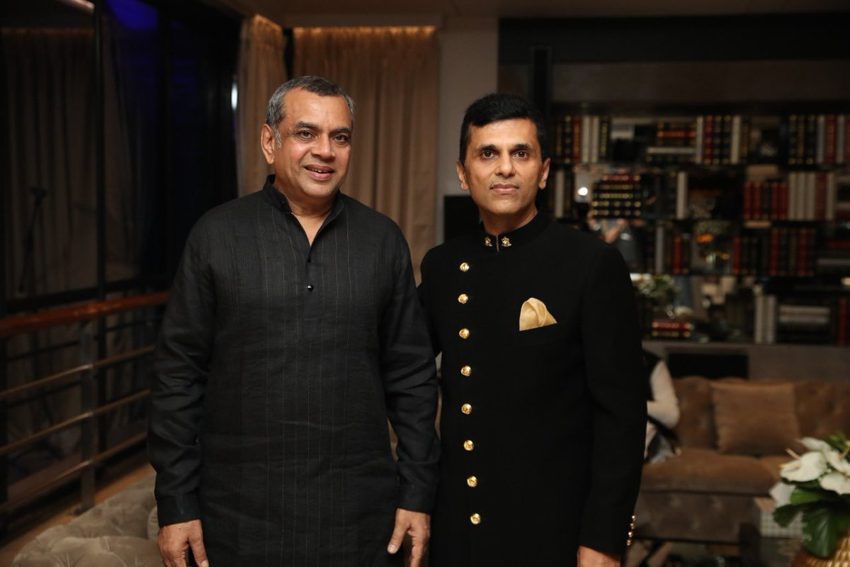 Anand Pandit,  HappyBirthday, PareshRawal