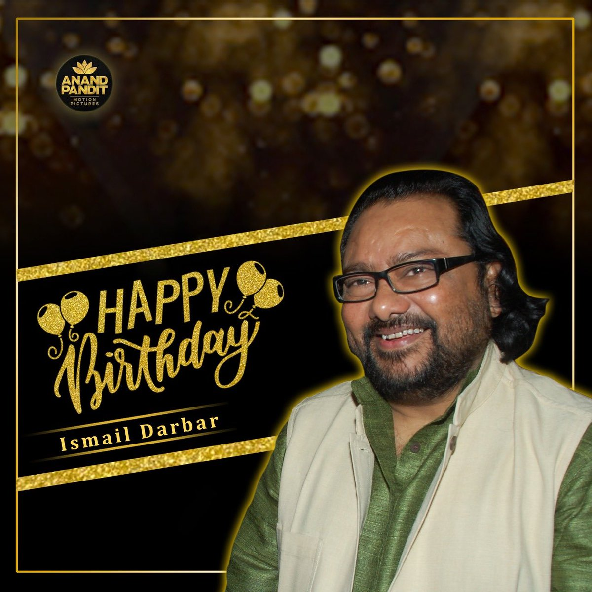 Happy birthday to my dear friend and a spectacular music composer #IsmailDarbar ! #HappyBirthday https://t.co/6Ky1pRFQip