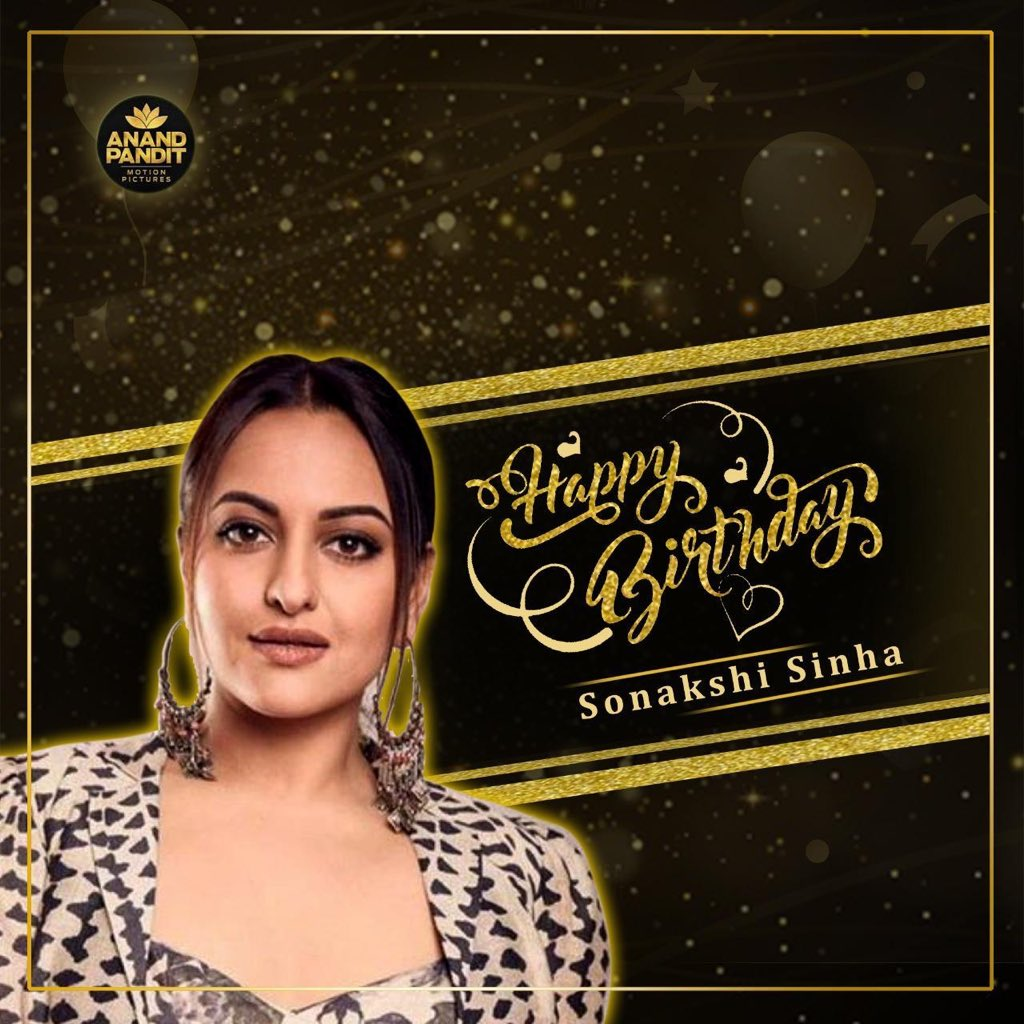 Happiest Birthday to our Baby Bedi from Khandani Shafakhana! We wish you all things gold just like your name Sona. @aslisona #HappyBirthdaySonakshiSinha #SonakshiSinha #APMP https://t.co/LFEZFGwE8V