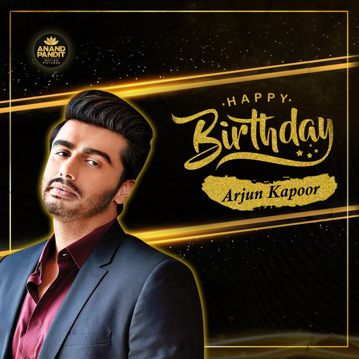 Happiest birthday Arjun Kapoor. You are not only an amazing actor, brother and son, but you are also a wonderful human being. Stay happy always! @arjunk26  . . #HappyBirthdayArjunKapoor #HappyBirthday https://t.co/jgGPn3WBXW