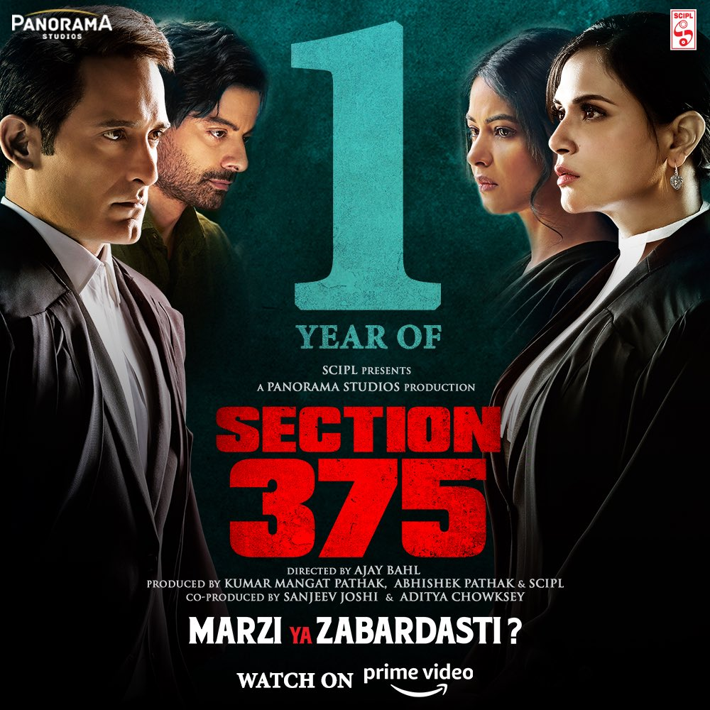 Anand Pandit,  Section375, AkshayeKhanna, RichaChadha