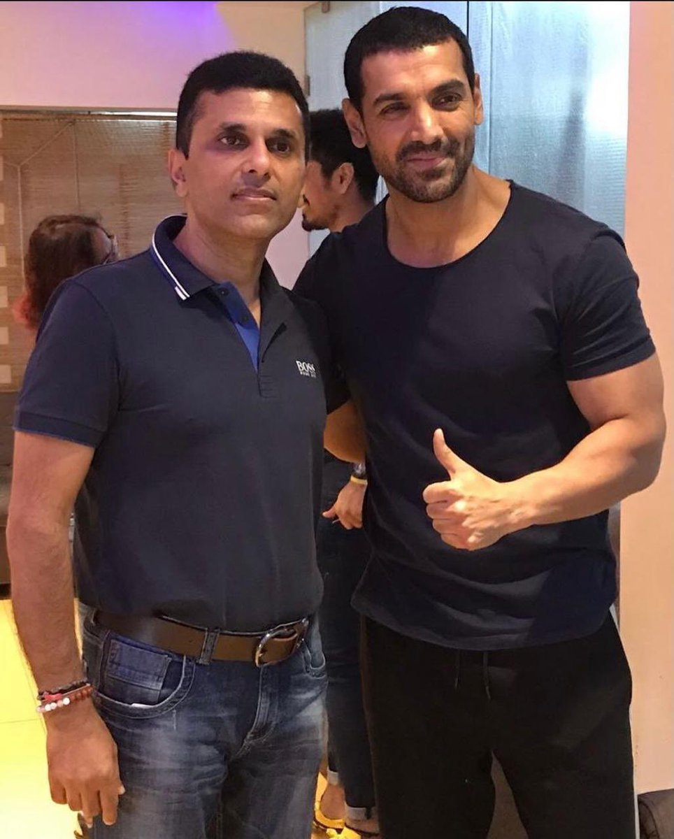 From a brilliant actor to then adding production in your kitty, John you have grown and truly juggled between various roles so well.  Wishing you a very very Happy Birthday and here's to many more successful films! @TheJohnAbraham https://t.co/W458OoErxr