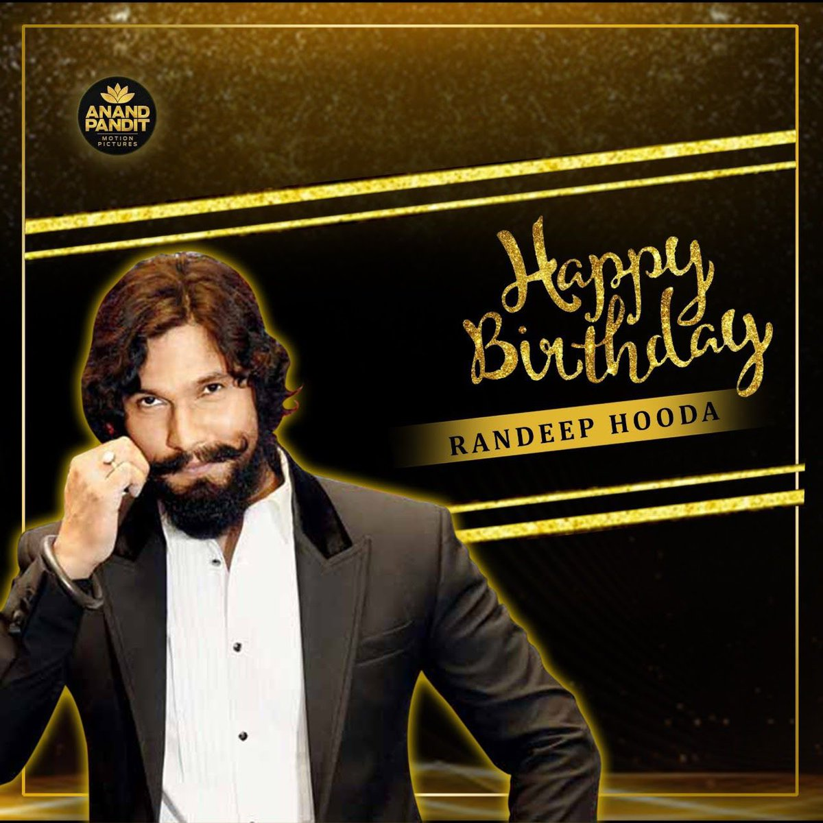 An actor par excellence who always puts up a stellar show on screen! Here's wishing @RandeepHooda a very Happy Birthday. https://t.co/9WMU76qS0w