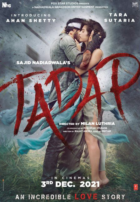 Congratulations on your debut @RealAhanShetty Good luck and I'm sure @SunielVShetty Ahan will make all of us very proud!  All the best to the entire team of Tadap!  @TaraSutaria @NGEMovies @rajatsaroraa @ipritamofficial @milanluthria @foxstarhindi https://t.co/EvAwAaYbG0