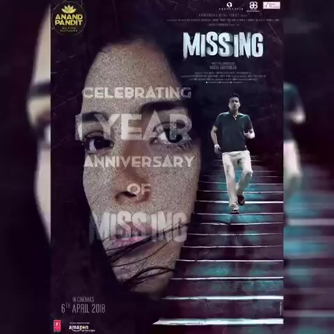 Celebrating #1yearofMissing #anandpanditmotionpictures #Missing https://t.co/8Rb9q2obBf