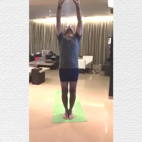 Yoga has always been an integral part of my daily life since the last 30 years! Yoga exercises have a physical effect and bring a balance between my body, soul and mind and keeps me going every single day!  . . #InternationalYogaDay #HappyYogaDay #YogaDay #Yoga https://t.co/NERZM51N8w